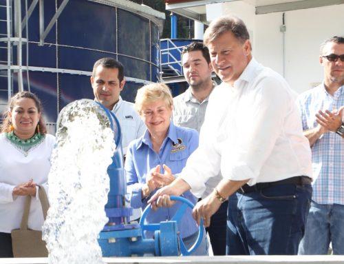 Gobierno deja un Boquete renovado con acueducto, alcantarillado y planta de tratamiento