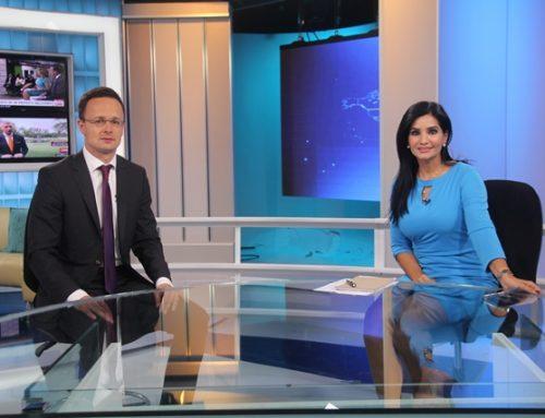 Canciller de Hungría brinda importantes declaraciones a  Sertv Noticias