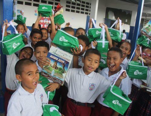 SERTV sigue apoyando la Agenda Escolar 2019