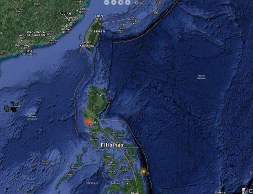 Fuerte terremoto sacude edificios en Manila (AFP)