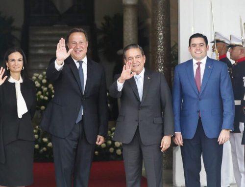 Se inició la transición de gobierno en el Palacio de las Garzas