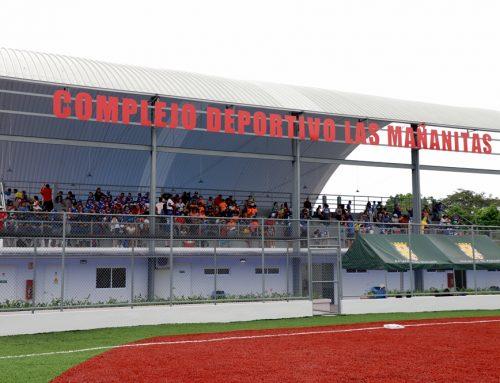 Mañanitas cuenta con un complejo deportivos para beisbolista pre juveniles