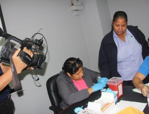 Realizan pruebas de VIH a colaboradores de SERTV