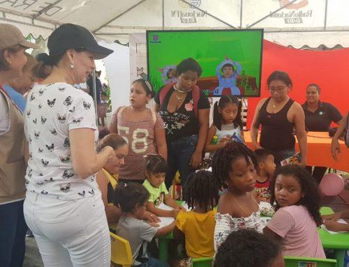 Stand de SERTV en la Feria del Niño y la Niña