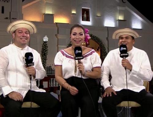 Exitosa transmisión especial de Santa Librada en ciudad de Las Tablas