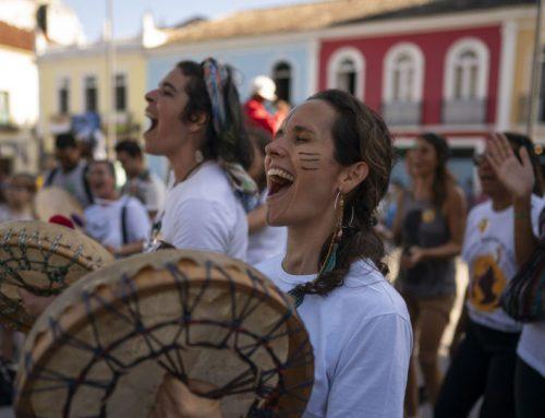 """Protestas en varias ciudades europeas para salvar la Amazonía """"en llamas"""""""