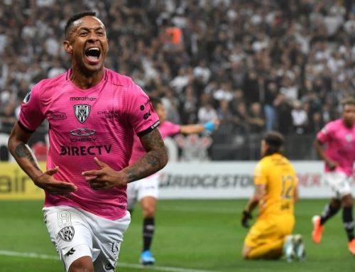 Gabriel Torres brilla en Copa Sudamericana con doblete ante Corinthians