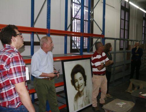 21 empresas ofertantes visitan las instalaciones del Museo Antropológico Reina Torres de Araúz