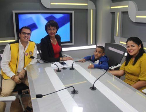 """Niño embajador de la Teletón 20-30  de 2019 participó en el programa """"A Esta Hora a.m."""" de Sertv y Nacional FM"""