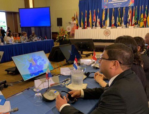 Ministerio de Cultura participa en reunión ministerial de OEA