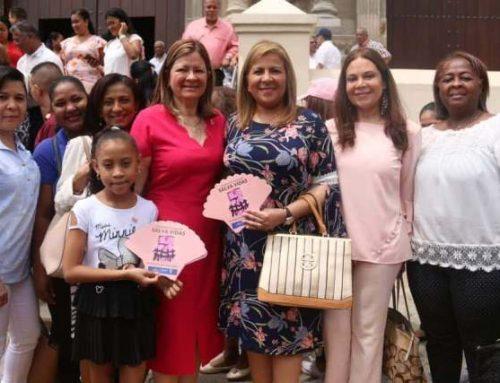 Colaboradores de SERTV participaron en la misa de la Cinta Rosada y Celeste