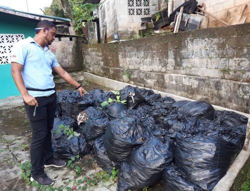 Comunidades de San Miguelito se suman a operativo de limpieza