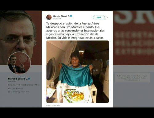 Evo Morales parte a México mientras la violencia toma calles de Bolivia