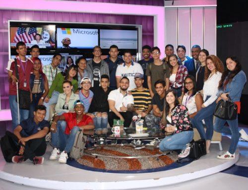 Estudiantes de la UIP visitaron las instalaciones de SERTV