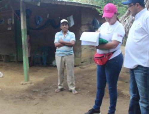 Participa en la implementación del Plan Colmena en Herrera