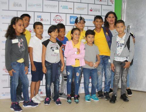 Hijos de los funcionarios de MiCultura visitaron las instalaciones de SERTV