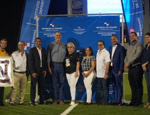 Moderno estadio de Fútbol Americano en la Ciudad Deportiva Irving Saladino