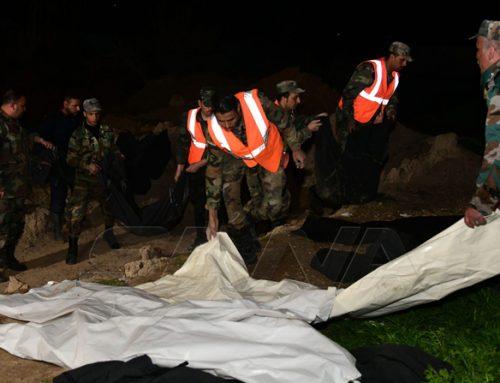 Hallan fosa común con 70 cuerpos en la región siria de Guta oriental, según la prensa