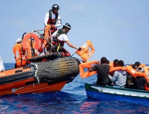 """El """"Ocean Viking"""" rescata a 84 personas frente a las costas de Libia"""