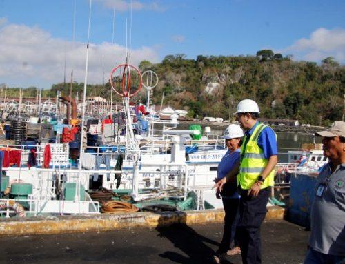 Redoblan vigilancia a embarcaciones que arriban al Puerto de Vacamonte