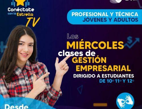 """Las clases de Gestión Empresarial llegan a Sertv, a través de """"Conéctate con la Estrella"""""""