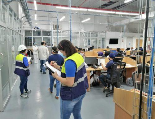 Mitradel verifica cumplimiento de las normas de Salud e Higiene en empresas de Panamá Este.