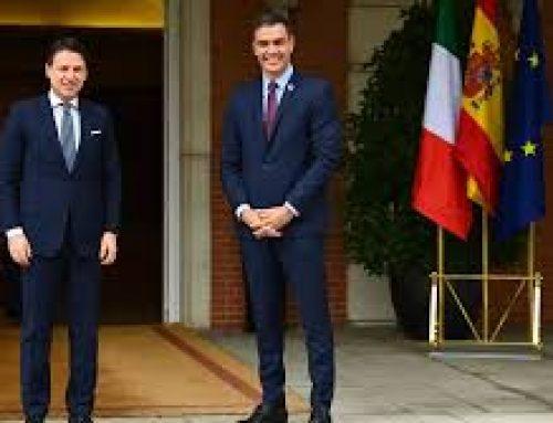 España e Italia hacen frente común para el plan de impulso europeo.